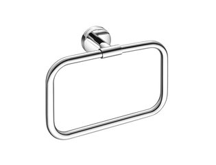 Aliseo Now Anneau porte-serviette 21.2x15x5.3cm laiton Chrome brillant SW203838