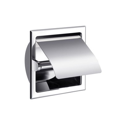 Aliseo toiletrolhouder messing 15.8x15.8xcm glanzend chroom