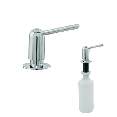 Aliseo Classic classic zeepdispenser messing glanzend chroom