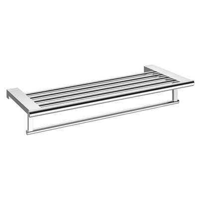 Aliseo Architecto handdoekrek messing 60x10.9x25.6cm glanzend chroom