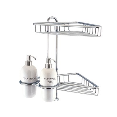 Crosswater Solo Corbeille porte savon 2 étages chrome