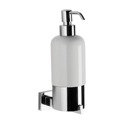 Crosswater Zeya zeepdispenser wit chroom