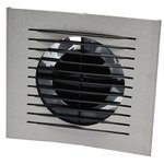 ivc air design ventilator diameter 125mm alu timer ce