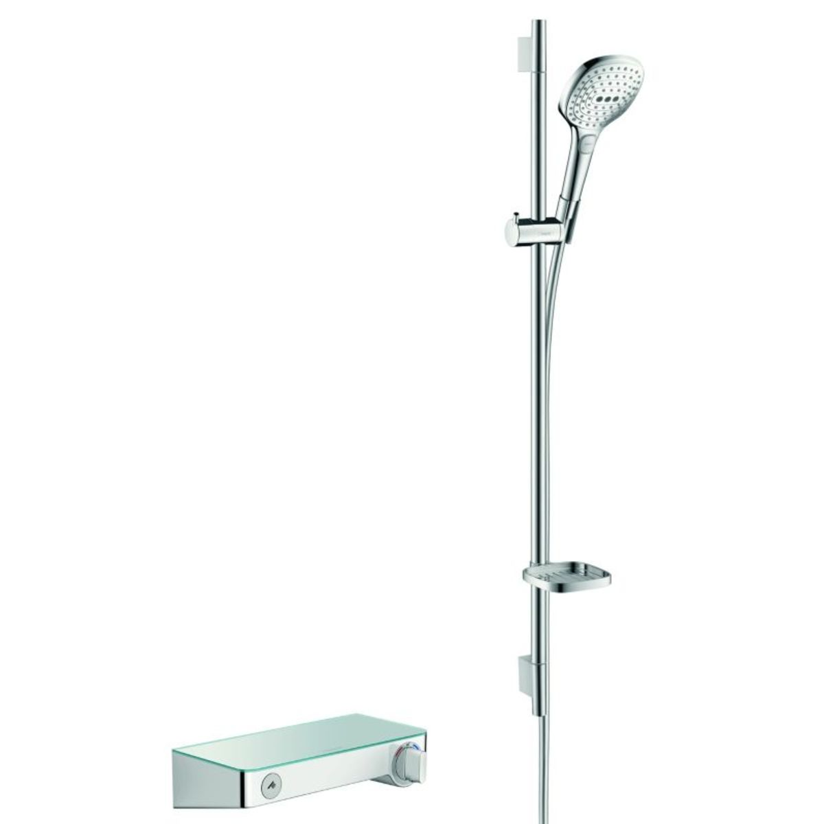 hansgrohe select shower tablet s300 met raindance s e120. Black Bedroom Furniture Sets. Home Design Ideas