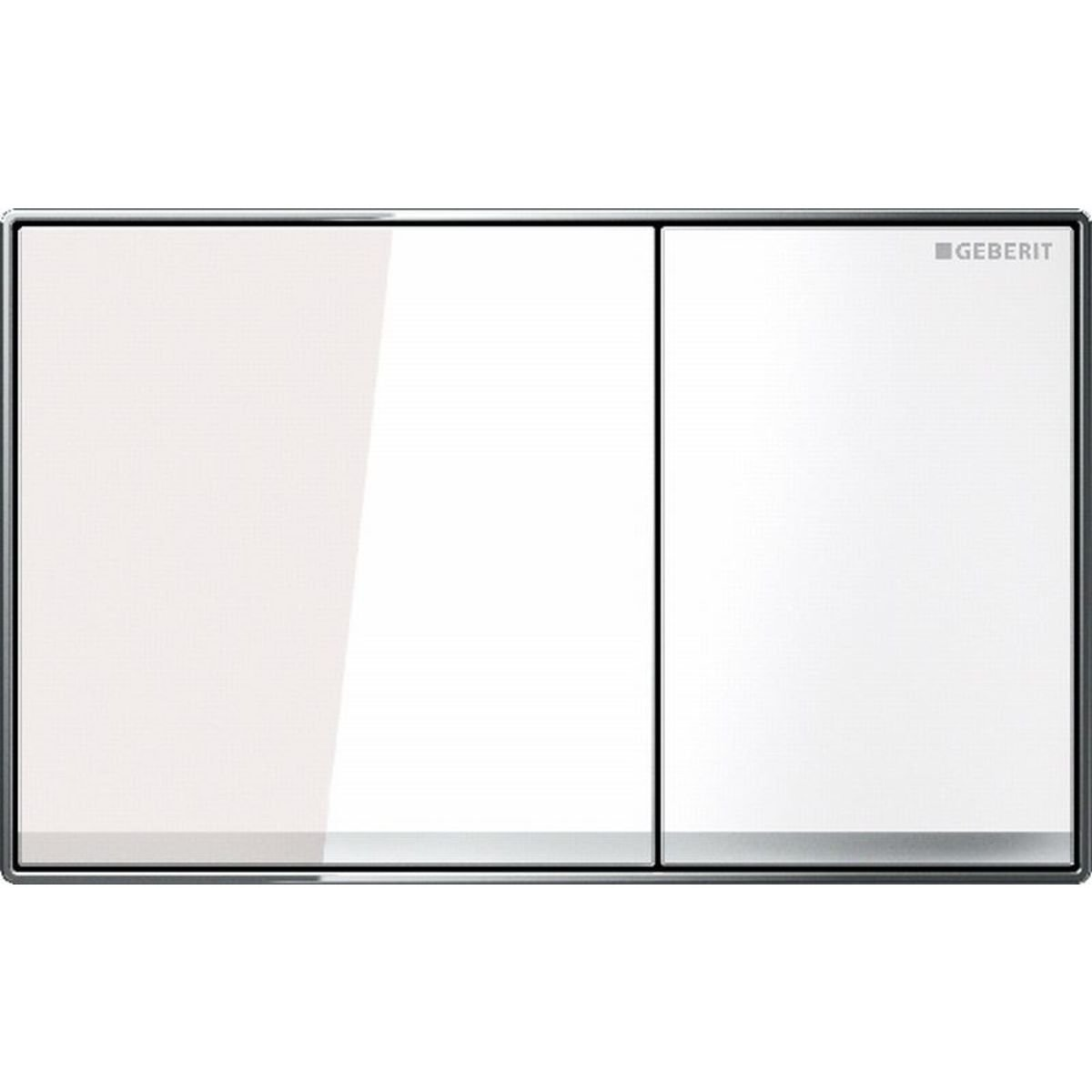 Geberit sigma 60 bedieningsplaat wit glas outlet for Geberit products