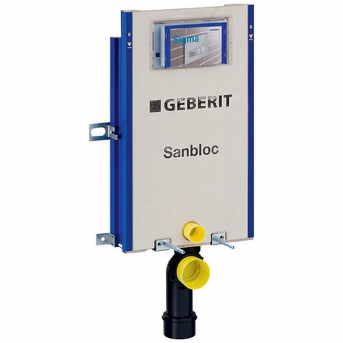 Geberit sanbloc wc element h112 zonder vloersteunen voor for Geberit products