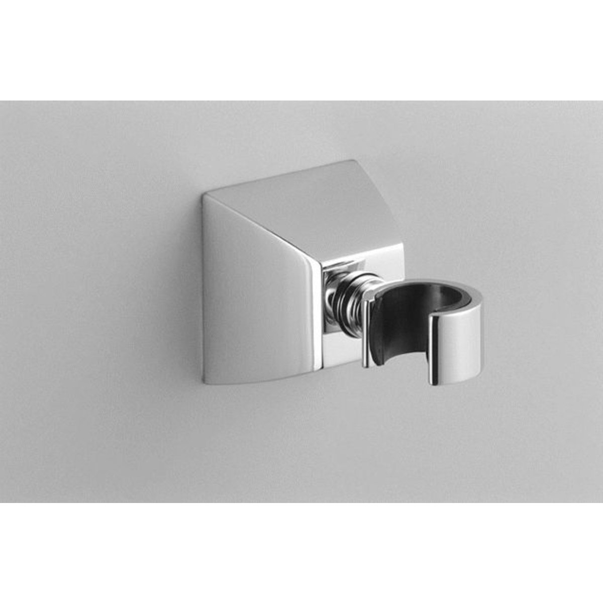 Villeroy boch square support mural pour douchette chrome for Support mural pour photos