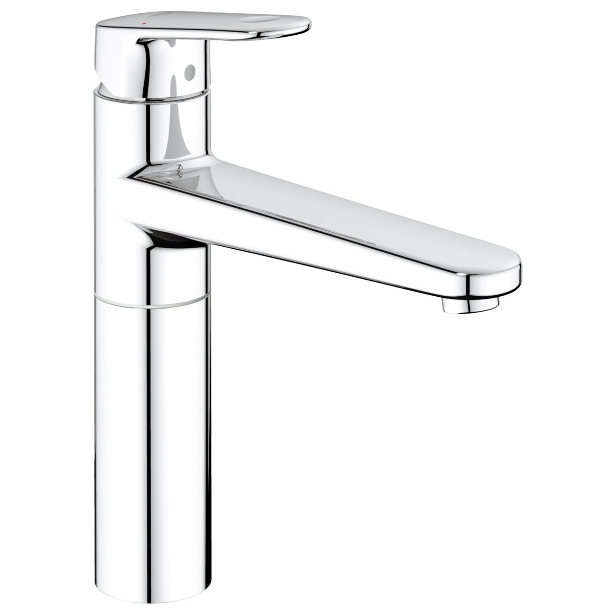 grohe europlus robinet de cuisine avec bec tournant chrome. Black Bedroom Furniture Sets. Home Design Ideas