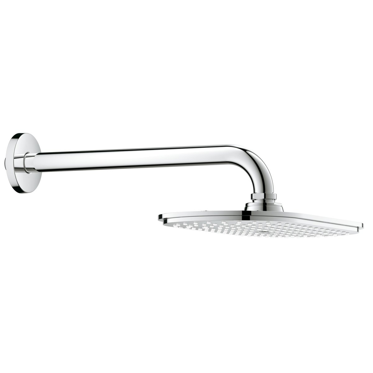 grohe rainshower veris douche de t te 30cm avec bras de douche 286mm chrome 26068000. Black Bedroom Furniture Sets. Home Design Ideas