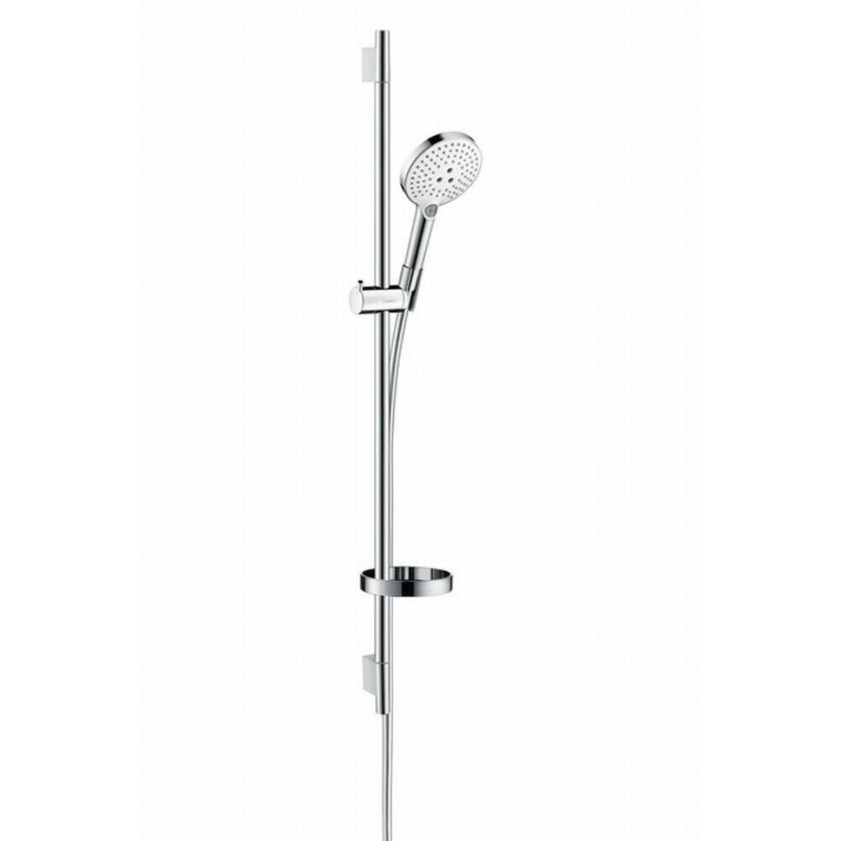 hansgrohe raindance select glijstangset 90cm m ecostat s120 unica s puro wit chroom 26633400. Black Bedroom Furniture Sets. Home Design Ideas