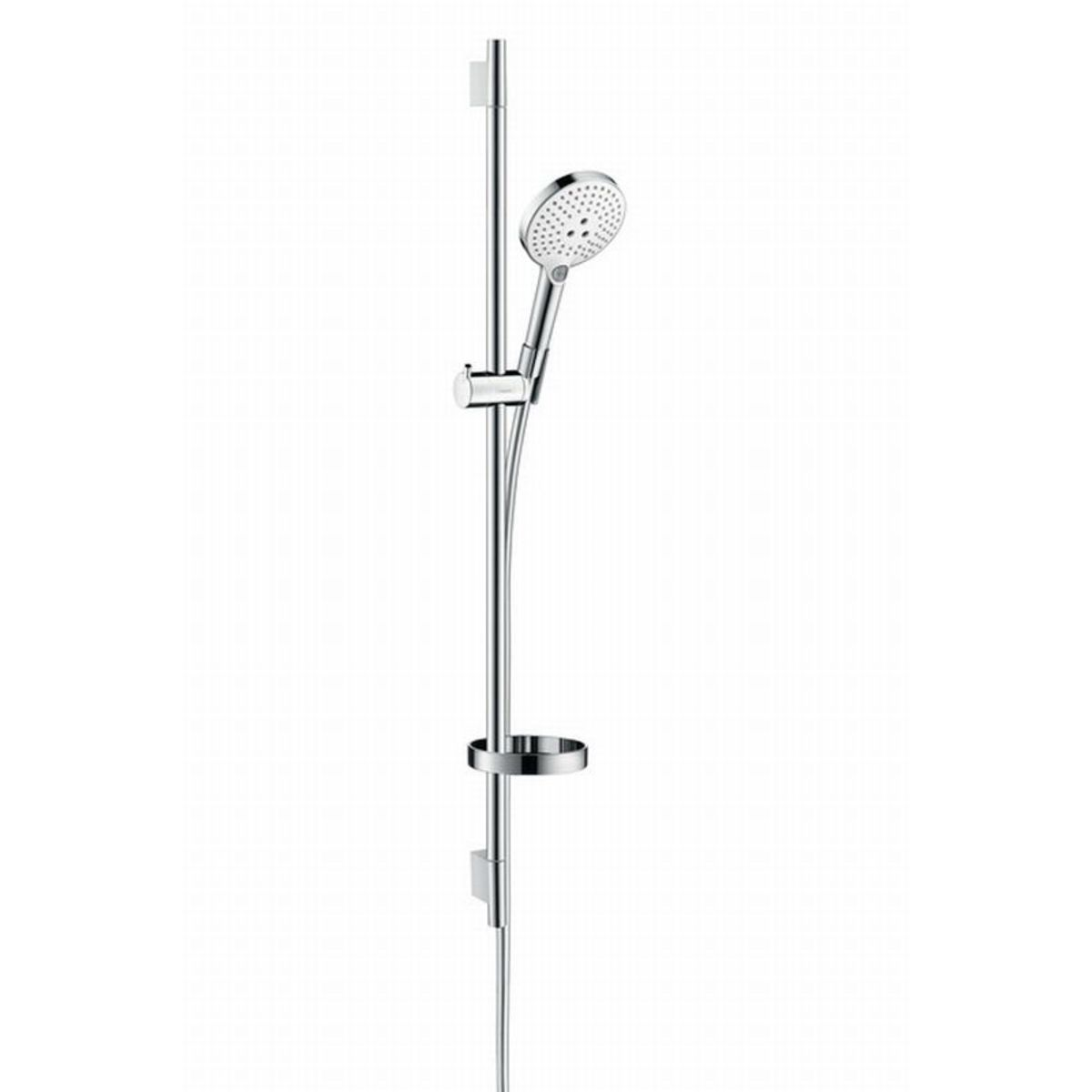 hansgrohe raindance select s120 glijstangset 90cm met. Black Bedroom Furniture Sets. Home Design Ideas