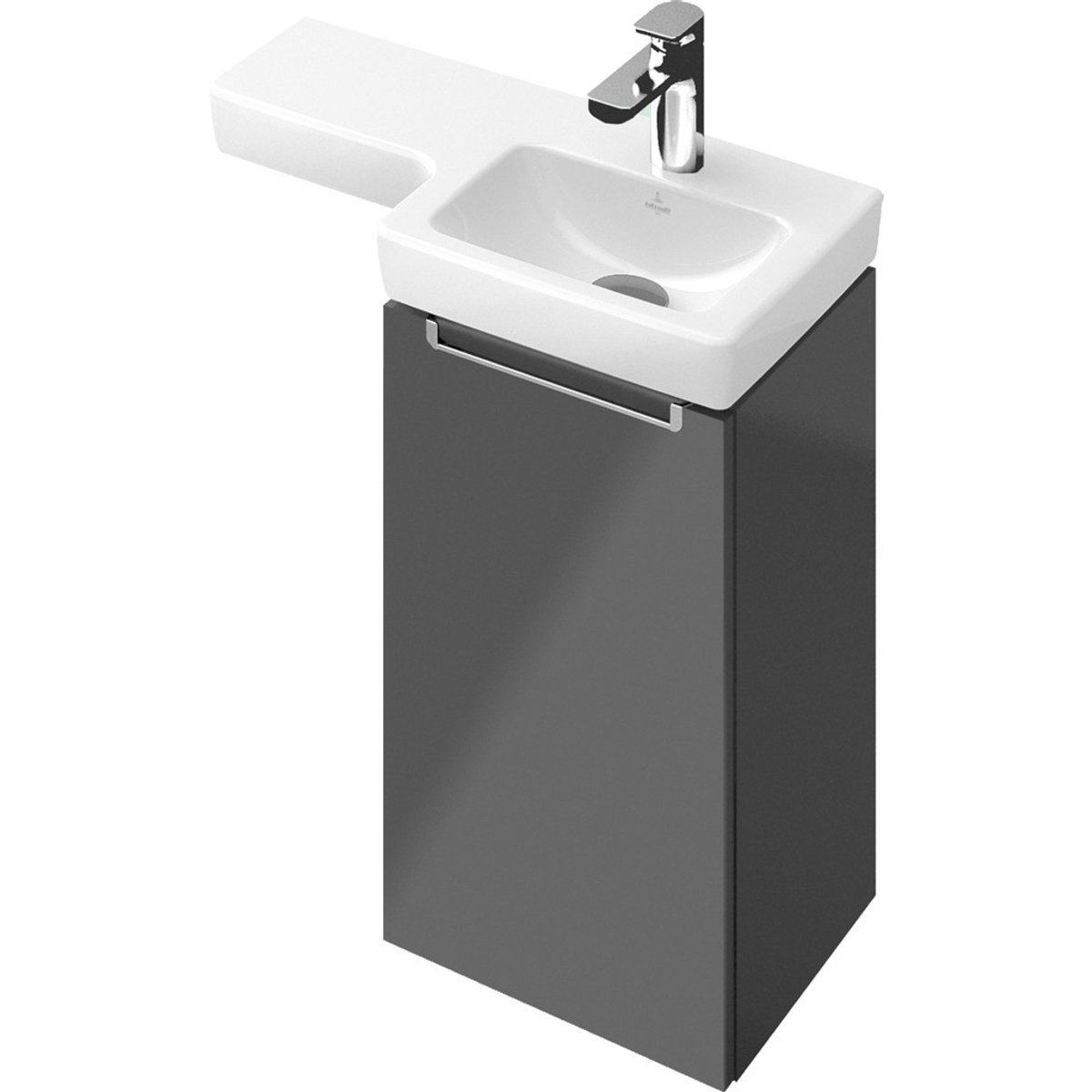 Villeroy boch subway 2 0 meuble sous lavabo for Meuble subway villeroy et boch
