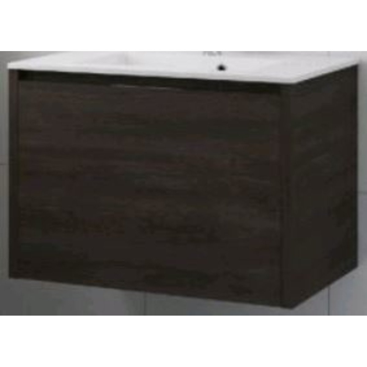 bruynzeel matera meuble sous lavabo 80x50cm 2 tiroirs gladstone oak 232708. Black Bedroom Furniture Sets. Home Design Ideas