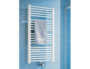 Kermi Basic 50 radiator 1172x450 mm as onderzijde 517w glans zilver SW77046