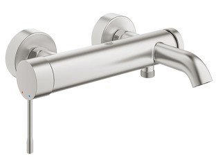 Grohe Essence New Mitigeur bain mural supersteel SW73256