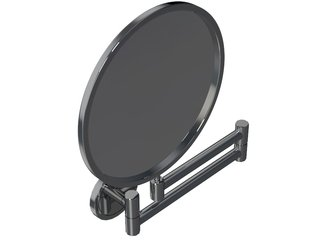Royal Plaza Plena Miroir de maquillage avec 2 bras chrome GA20807
