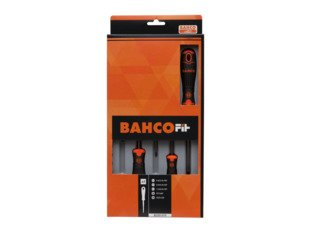 Bahco FIT 6-DLG.SCHROEVENDRAAIERSET GLEUF PH SW31816