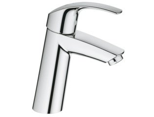 Grohe Eurosmart wastafelkraan medium chroom 0436333