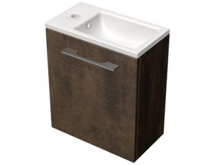 Royal Plaza Timothy fonteinmeubel 40x22cm deur links met fontein brons GA41810