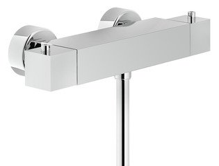 Royal Plaza Malum douchethermostaat 15cm chroom GA62551