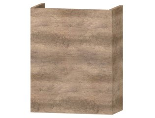 Wavedesign Domino fonteinonderkast incl.fontein 40x22x60cm grey oak SW98405