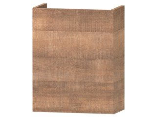 Wavedesign Domino fonteinonderkast incl.fontein 40x22x60cm brown oak SW98406