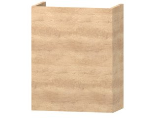 Wavedesign Domino fonteinonderkast incl.fontein 40x22x60cm naturel oak SW98404