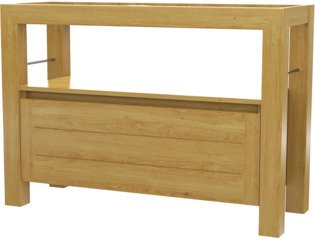 Wavedesign San remo wastafelonderkast 120x45cm naturel oil SW98567