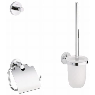 Grohe Essentials accessoireset 3 in 1 chroom