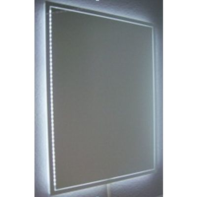 Royal Plaza Murino spiegel 90x80 decor rondom plus ind.led verl plus verwarming
