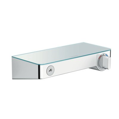 Hansgrohe Select shower tablet 300 douchethermostaat 15cm wit chroom