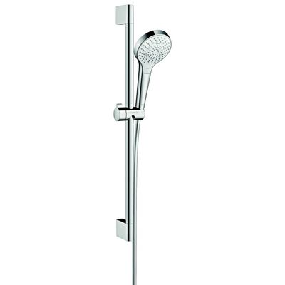 Hansgrohe Croma select s glijstangset 65cm multi wit chroom