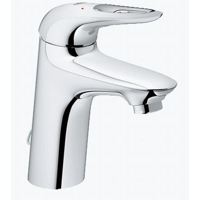 Grohe Eurostyle New 1 gats wastefelkraan M size met waste chroom