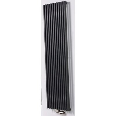 Vasco Zana zv 2 radiator 464x1800mm n12 as 1188 2068w 75 65 20 antraciet