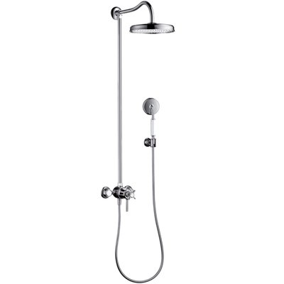 AXOR Montreux showerpipe met thermostaat Chroom