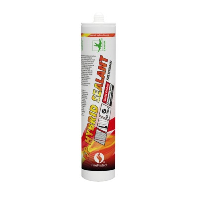 Zwaluw Fireprotect FP HYBRID SEALANT 290ML. wit