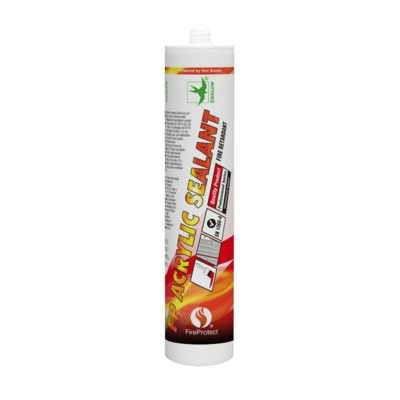Zwaluw Fireprotect FP ACRYLIC SEALANT 310ML. wit