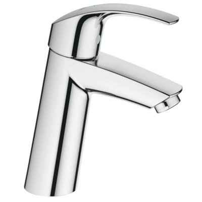 Grohe Eurosmart wastafelkraan medium chroom
