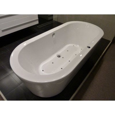 Royal Plaza Zelo2 Baignoire Balnéo complet 180x80cm injection d'air pl10 blanc