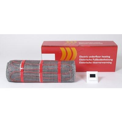 Royal Plaza vloerverwarming mat plus thermostaat fht 3 m2 450w