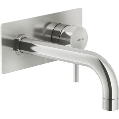 Royal Plaza Seto afdekset wand wastafelkraan uitloop20cmm/achterpl. brushed