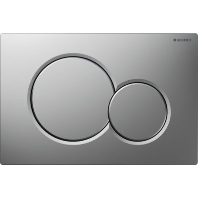 Geberit Sigma 01 Plaque de commande chrome mat