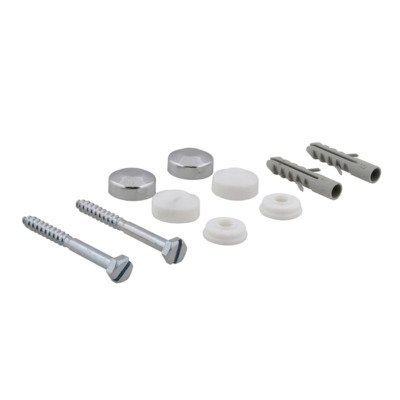 Set de vis pour cuvette 5.5x60mm chrome