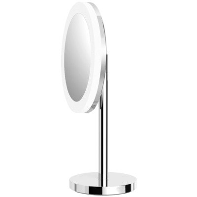 Royal Plaza Plena Miroir de maquillage libre avec éclairage LED chrome