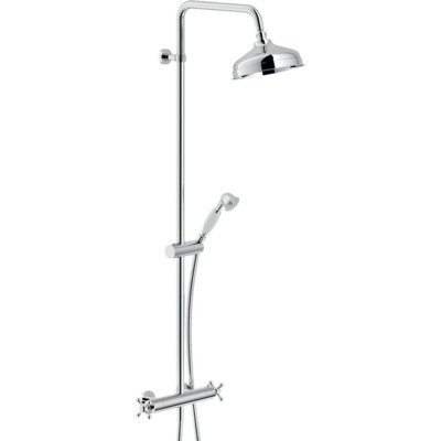 Royal Plaza Zarza showerset met thermostaat chroom