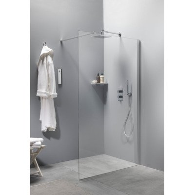 Royal Plaza Bajad walk-in douchewand 90x200cm timeless chroom