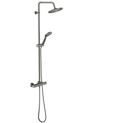 Royal Plaza Talon showerset met thermostaat staal