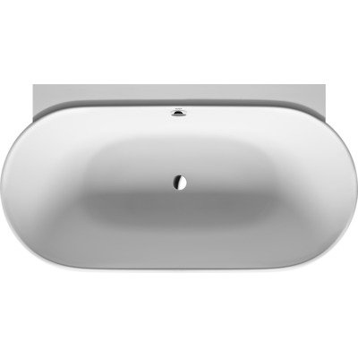 Duravit Luv back-to-wall bad 180 x 95 cm wit