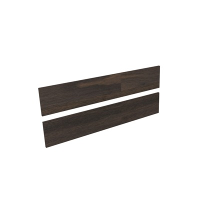 Royal plaza Merlot frontenset zonder greep 120x22 eiken tabacco