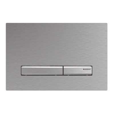 Geberit Sigma50 Plaque de commande chrome mat